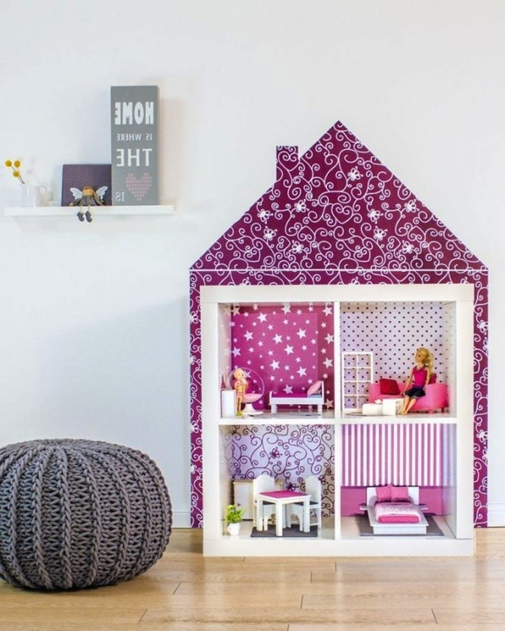 Кукольный домик из КАЛЛАКС