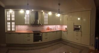 Подвесные светильники ОТТАВА на кухне