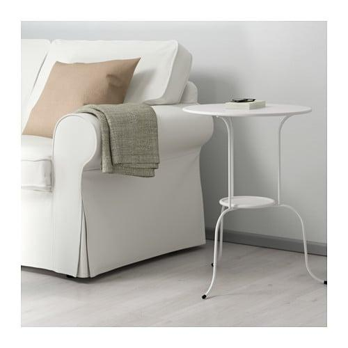 Ikea – Tavolino Lindved, 50 x 68 cm, colore bianco: Amazon