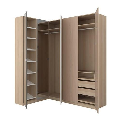 Armadi Ikea Ad Angolo.Pax Armadio Ad Angolo 592 180 21 Recensioni Prezzi Dove