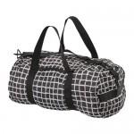 KNALLA спортивная сумка черный/белый