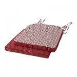 KAUSTBI poduszka na krzesło - czerwony