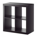 EXPEDIT Shelving unit - black-brown