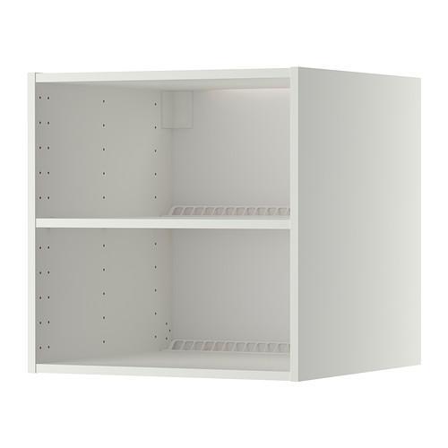 МЕТОД Каркас верхн шкафа на холод/морозил - белый, 60x60x60 см