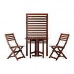 ЭПЛАРО Панель+стол+2 стула