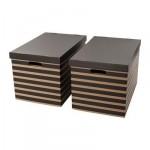 scatola con coperchio Pingle - 56x37x36 cm