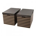 ПИНГЛА Коробка с крышкой - 56x37x36 см