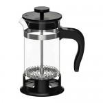 UPPHETTA кофе-пресс/заварочный чайник стекло/нержавеющ сталь 17x Ø8 cm