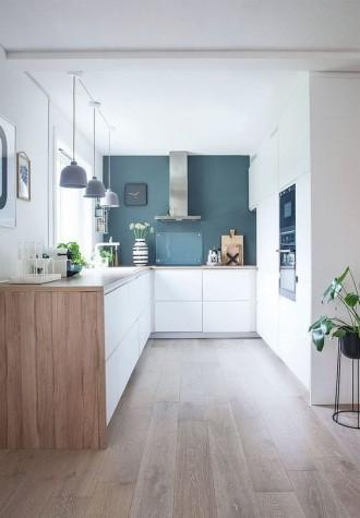 Hermosa cocina ligera de IKEA
