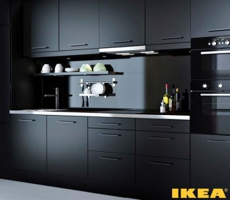 Kitchen interior wenge