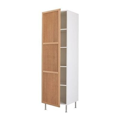 FAKTUM High cabinet with shelves - Ulriksdal oak, 60x211 see