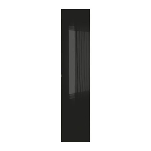 ПАКС СТОРОС Дверь - стекло/черный