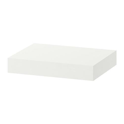 Prateleira LACK com dobradiças brancas 30x26 cm