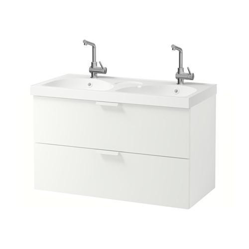 GODMORGON / EDEBOVIKEN armadietto affonda con cassetti 2 - bianco