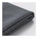 ВАЛЛЕНТУНА Чехол секции дивана-кровати - Хилларед темно-серый
