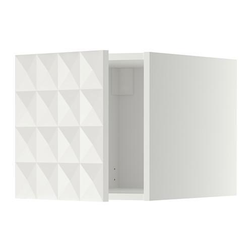 МЕТОД Верхний шкаф - Гэррестад белый, белый
