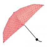 KNELLA Dáždnik - skladací červená / biela