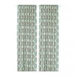 FJÄDERKLINT curtains, 1 pair