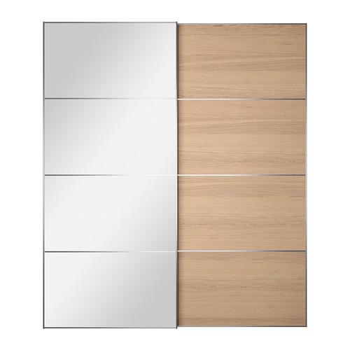 AULI / ILSENG Un paio di porte scorrevoli - 200x236 cm