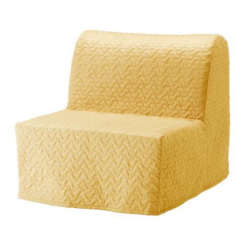 ЛИКСЕЛЕ ХОВЕТ Кресло-кровать - Валларум желтый, -