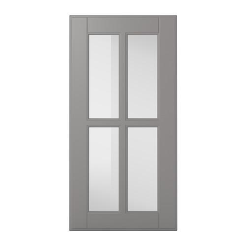 БУДБИН Стеклянная дверь - 30x60 см