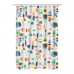 DOFTKLINT shower curtain multi-colored
