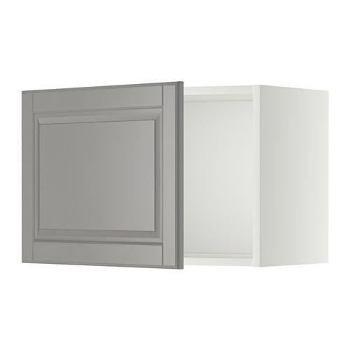 МЕТОД Шкаф навесной - 60x40 см, Будбин серый, белый