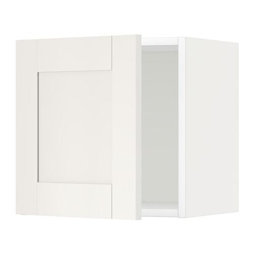 МЕТОД Шкаф навесной - 40x40 см, Сэведаль белый, белый