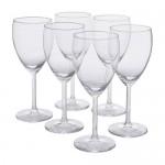 SVALKA бокал для белого вина прозрачное стекло