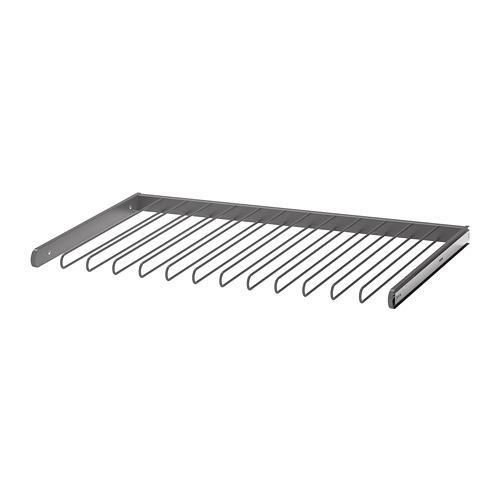 КОМПЛИМЕНТ Выдвижная вешалка для брюк - темно-серый, 100x58 см