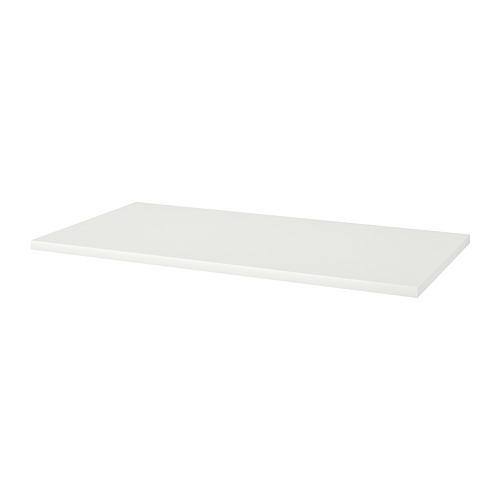 LINNMON countertop white 75x150 cm