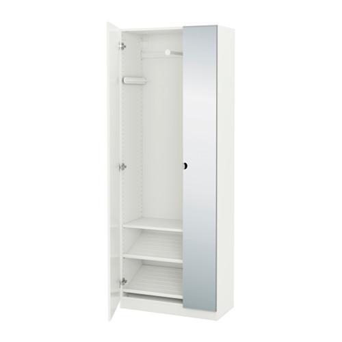 ikea garderob 75 cm dörrar