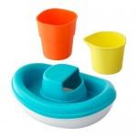 Set di giocattoli SMÅKRYP d / bath, 3 Predm. la barca