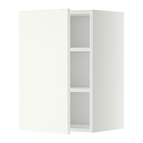 Meuble suspendu avec étagère blancHaggebi blanc40x60 cm MÉTHODE n0XOP8Nwk