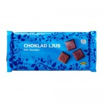 la xocolata de llet Choklad LJUS