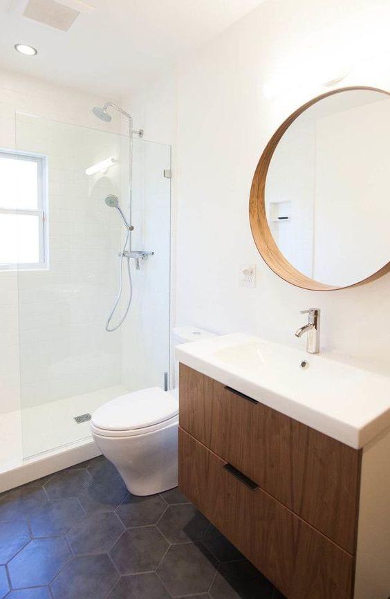 Transformacja łazienki z lustrem SZTOKHOLM