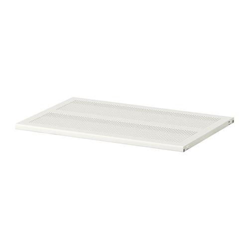 АЛЬГОТ Полка - металл белый, 60x38 см