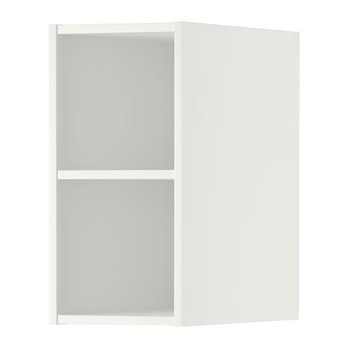 ХОРДА Открытый шкаф - белый, 20x37x40 см