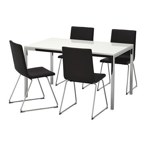 Eettafel En Stoelen Ikea.Torsby Wolfgang Tafel En Stoel 4 092 518 57 Reviews Prijs