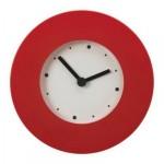 ТАЙМА Настенные часы - красный