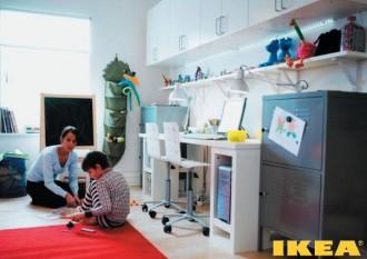 Kinderzimmer für einen Studenten
