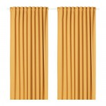 MAJGULL blackout curtains, 1 pair