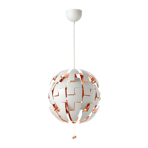 2014 ikea ps pendant lamp white copper - Ikea Lampe Ps 2014