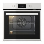 ANRÄTTA oven with hot air blow and pyrol function black