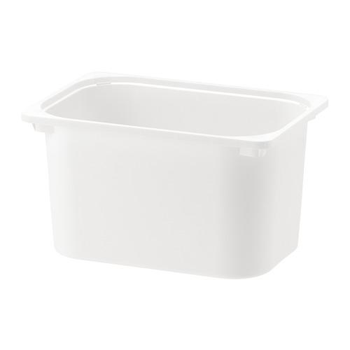 TROFAST witte container 42x30x23 cm