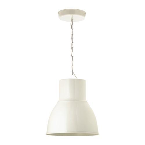 Hektar hängande lampa Vit