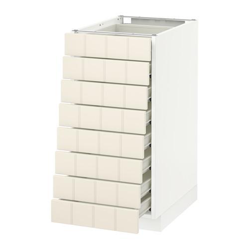 methode forvara vollschrank 8 vorne 8 schubladen wei hitarp wei mit einem touch 40x60. Black Bedroom Furniture Sets. Home Design Ideas