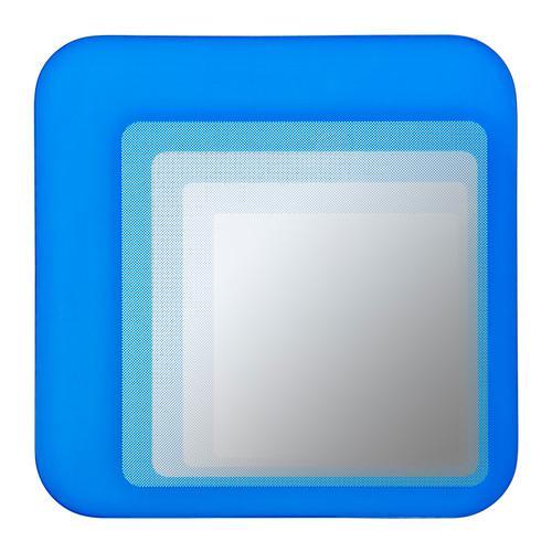 ХИЛЬКЕ Зеркало - ярко-синий