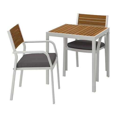 Tavoli Da Giardino Ikea Prezzi.Tavolo Da Giardino Sjalland E Sedie Luminose 2 492 652 30