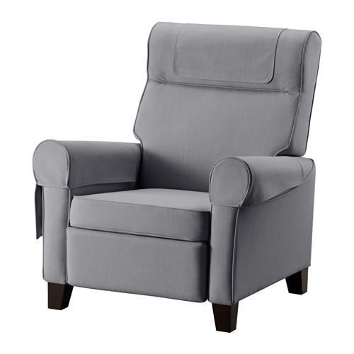 МУРЭН Раскладное кресло - Нордвалла классический серый